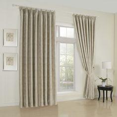 Geometric Neoclassical Brown Blackout Curtains  #curtains #decor #homedecor #homeinterior #brown