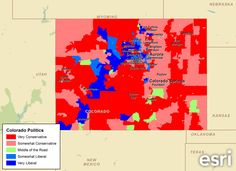 Colorado is one of the key swing states in the upcoming presidential election.  With 9 electoral votes up for grabs, it is an important state for both Barack Obama and Mitt Romney to win.    The map and data below tell the story of the demographic and political makeup of the Colorado prior to the election.  What will sway the voters in this state?  What do we know about them?  We'll be sure to check back after Nov. 6 to see what the election results reveal.