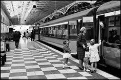 Dublin. 1964. Kingsbridge Station.