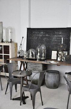 フランスや、他海外で今、人気お洒落なインダストリアル(工業的)デザイン 家具、 Industrial Style Interior デザインのインテリアの画像を...