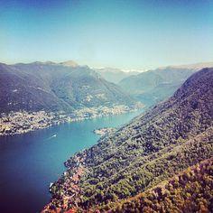 I wish I were still there. #latergram #Como #lake...