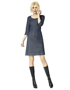 Shirley - denim Prachtige jurk!