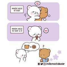 Cute Love Pictures, Cute Love Memes, Cute Love Gif, Walle Y Eva, Cute Emoji Combinations, Cute Bear Drawings, Cartoon Drawings, Chibi Cat, Cute Couple Cartoon