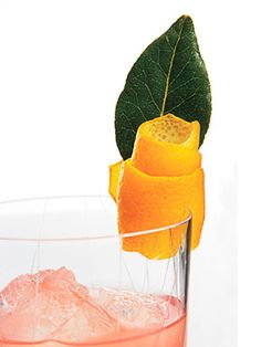 LOVE these COCKTAIL GARNISH Ideas!
