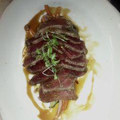 Spice Crusted Tuna App!