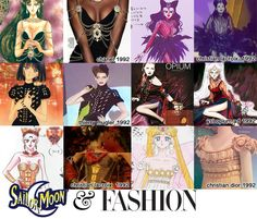 "Fashion that inspired ""Sailor Moon"" anime and manga series."