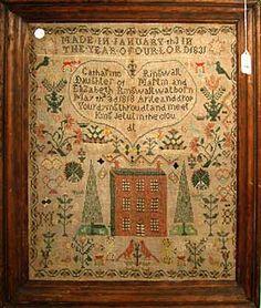 1831 Antique Sampler