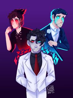 I rewatched DAMIEN and got sad so here's this thing : Markiplier Markiplier Wallpaper, Markiplier Fan Art, Markiplier Memes, Mark And Ethan, Jack And Mark, Darkiplier And Antisepticeye, Septiplier, Architecture Tattoo, Scary Stories