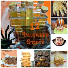 12 Spooky Halloween Themed Snack Recipes - In The Kitchen With KP