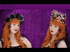 ▶ Making Halloween Themed Crowns - YouTube