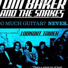 New  Music :  Doll Eyes by Tom Baker and the Snakes