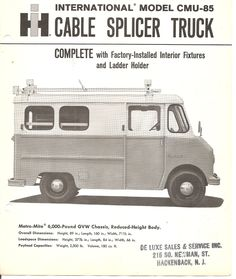 79 Best Bell System Trucks Images Utility Truck Phone