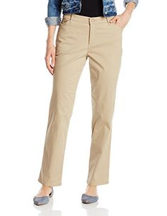 Lee Womens Petite RelaxedFit All Day Pant Flax 18 Petite >>> Want to know more, click on the image.