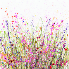 UK Flower Artist Yvonne Coomber - #Flowerart #fineartprint  I Say A Little Prayer –Inspired by the wonderful Aretha Franklin song. And for all those people who need a little prayer