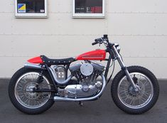 Sportster retro flat track custom