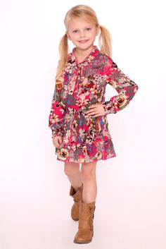 Step into a new season with the most-loved pattern in styles made for layering and wearing on its own! The Florals Galore Vibrant Dress is the perfect transition dress from Winter to Spring! The vibrant florals is perfect to match with a brown leather jacket for winter & to wear with open toe shoes for Spring! Shop now: https://trulymetoo.com/collections/spring-transition/products/florals-galore-vibrant-dress