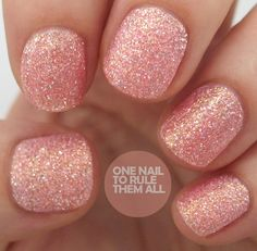 Barry M Autumn/Winter 2013 Royal Glitter Nail Polish Collection-- Princess