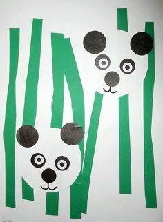 Panda - collage facile