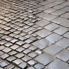 Roman paving stones: