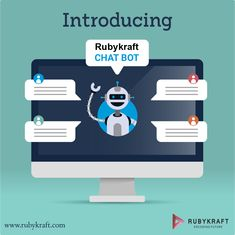 Establishing an online presence is absolutely vital to stay ahead of competitors. Moving a step closer to our consumers, introducing Rubykraft Chat Bot! Mobile Application Development, Web Application, Risk Management, Business Management, Online Marketing, Digital Marketing, Blood Donation, Business Software, Camping Organization