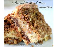 These Choco Butter Bars take care of that sweet treat craving and are a healthy and sugar free.They are packed with healthy ingredients!