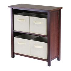 Found it at Wayfair - Verona 4 Drawers Low Storage Shelf with Foldable