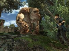 World of Gothic - Gothic 3 Gothic, Best Graphics, Fantasy World, Skyrim, Troll, Lion Sculpture, Elephant, Statue, Games