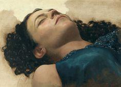 Arantzazu Martinez   The Dream  Oil on linen  -2006  33.02 x 22.86 cm
