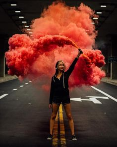 "423 Likes, 29 Comments - Enola Gaye Grenade Co. (@smokegrenades) on Instagram: ""Great burst smoke image from @cmyk_life ・・・ Still smokin  @_elle_cee_"""