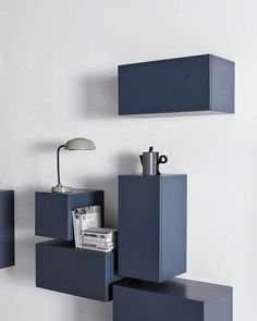 Coffee Tables | Tables | Isom Cube Blue | Sebastian Scherer. Check It Out  On Architonic | Furniture | Pinterest | Crafts, Squares And Coffee Tables