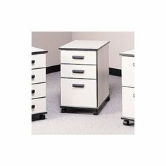Fleetwood Solutions Three-Drawer Mobile File Cabinet - Box/Box/File 28.1003x Color/Trim/Frame: Thyme Fiber/Black/Black by Fleetwood. $686.99. Fleetwood The Solutions series is designed to create the perfect functional computer lab or work environment for your school or office. With a variety of units that work seamlessly together, the design possibilities for your space are endless! Each model is available in several finishes and design options. The interchangable natur...