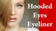 In this video tutorial I will show how to put eyeliner on HOODED or DOWNTURNED eyes. I will share with you my makeup tricks so you will be able to play with . How To Put Eyeliner, Eyeliner For Hooded Eyes, Perfect Eyeliner, Hooded Eye Makeup, No Eyeliner Makeup, Eyeliner Designs, Eyeliner Styles, Makeup Videos, Makeup Tips