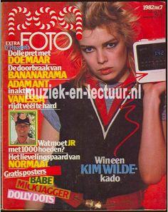 De Popfoto, geweldig. Ik had mijn haar zelf net zo geknipt als Kim Wilde en het was nog gelukt ook!
