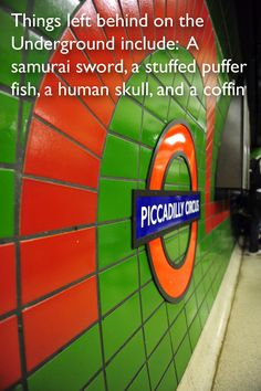 Why would anyone lose a coffin is beyond me. || 27 Extraordinary Facts About The London Underground