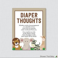 Diaper thoughts