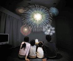 Enjoy an amazing display of lights from the comfort of your couch with the indoor fireworks show. There's no need to wait for holidays anymore, simply turn off the lights and project an extraordinary and realistic show that'll leave the family breathless. Indoor Fireworks, Fireworks Show, Small Projector, Raining Outside, Home Theater Projectors, Visual Display, Home Automation, Office Gifts, Cool Gadgets