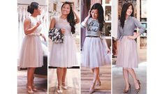 How to re-style a bridesmaid or formal dress
