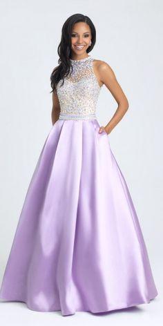 343443 Juniors Morgan & Co. Sequin Cut Out Prom Dress   Prom ...