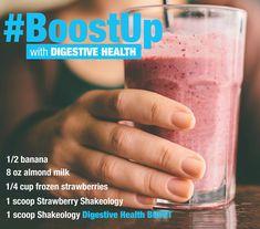 Strawberry Shakeology Digestive Health Boost