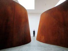 "Richard Serra First Artist to Win Architectural League President's Medal Inside Out"" (2013) / Richard Serra. Image © Flickr CC User Trevor Patt"