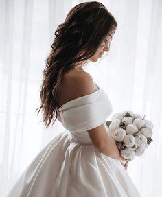 Wedding Dress Tea Length, Perfect Wedding Dress, Dream Wedding Dresses, Gown Wedding, Wedding Ceremony, Grecian Wedding, Wedding Frocks, Ivory Wedding, Ball Dresses