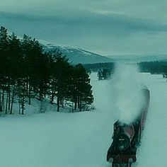 "The Hogwarts Express route in Half-Blood Prince (Bjorli, Norway) | The ""Harry Potter"" Guide To The U.K. #harrypotter"
