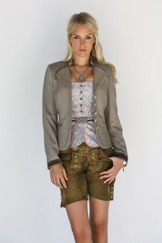 Lederhosen style for her. Sophisticated. By anno domini