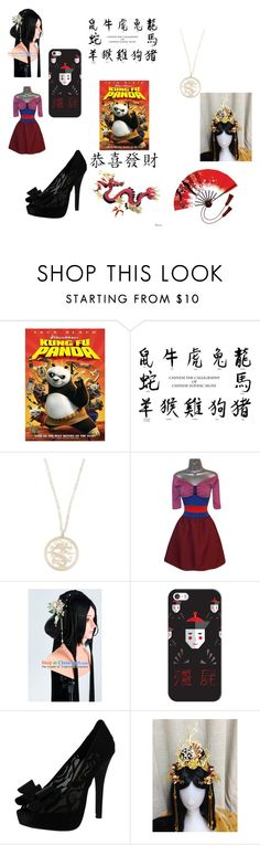 """Kung Fu Panda Style"" by dare2b-you ❤ liked on Polyvore featuring Miss Selfridge, Casetify and Chinese Laundry"