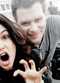 Joseph Morgan & Danielle Campbell