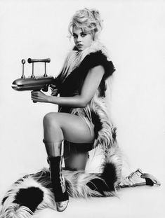 Jane Fonda as Barbarella - 1968