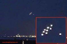 UFOLOGIA - OVNIS ONTEM: Observação em massa de UFOs sobre Martigues - Fran...
