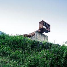 ZonE . Pasarela-Mirador sobre las Minas de Rioseco . Riosa (1)