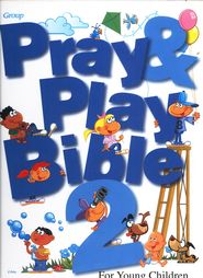Pray  Play Bible 2 - Moppets curriculum for 2014-15