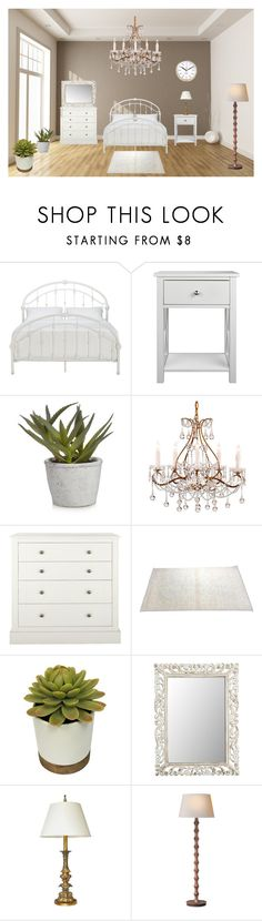 """Master Bedroom All To Myself"" by carolynpence ❤ liked on Polyvore featuring interior, interiors, interior design, home, home decor, interior decorating, Inspire Q, Pier 1 Imports, Karlsson and bedroom"